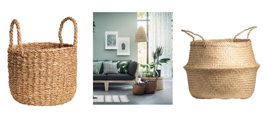 jutekorb, badezimmer dekoration, grün, wohntrend, natur, planzen, korb, einrichtung, wohnblog,