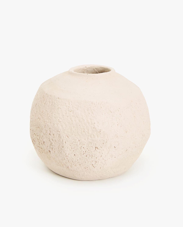 vase, keramik, beton, natürlich wohnen, wohntrend natur, wohnideen, wohndekoration, dekoration, interiordesign, interior, boho, neutral bohemian, handarbeit, naturmaterialien